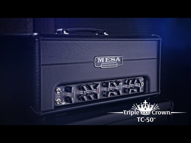 MESABoogie Triple Crown TC-50 Official Demo