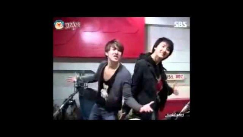 Kim Hyung Jun bailando Bingeol bingeol de U kiss