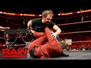 The Miz incites Dean Ambrose on the Miz TV set Raw April 17 2017