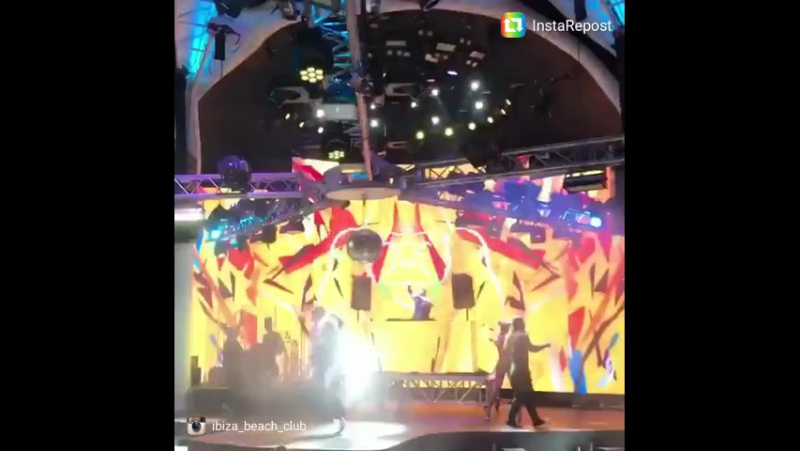 Ibizabeachclub jayfiller mcalexg showbaletibiza