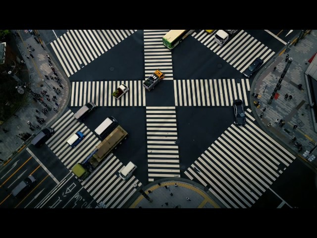 Time lapse from Tokyu Plaza Ginza