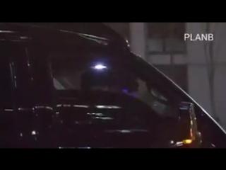 Химчан.  уезжают после мини-финмитинга после Show! Music core