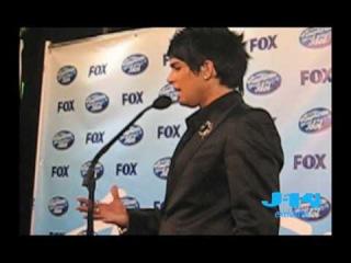 J-14 Exclusive: Adam Lambert AI Finale Interview