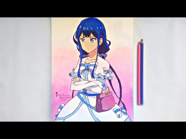 Speed Drawing Anime Masamune kun no Revenge Aki Adagaki Рисую Аниме Месть Масамунэ Аки Адагаки