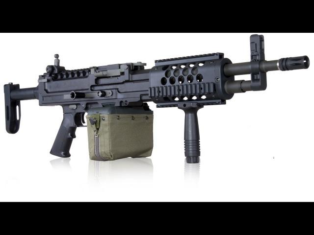 Knight's Armament Full Metal Stoner LMG AEG скорострельность. отстрел маленький.