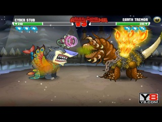 Boss Mutant Fighting Cup 2 (Asia Cup 15) Cyber Stub VS Earth Tremor (Dog Part 55)