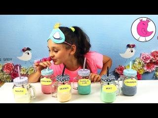 МОЛОЧНЫЙ ЧЕЛЛЕНДЖ УГАДЫВАЮ ВКУС СИНЕГО ЗЕЛЕНОГО ОРАНЖЕВОГО МОЛОКА Rainbow Milk Challange