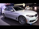 2018 BMW 5 Series 530e eDrive - Exterior and Interior Walkaround - 2017 Detroit Auto Show