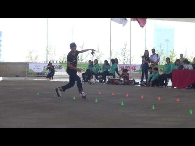 World Roller Games 2017 WFSC Junior Lai Hsu Chieh 4 place