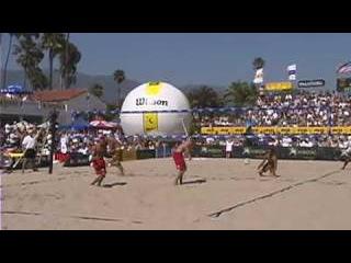 Karch Kiraly & Doble vs. Dax & Fonoi in the Final from Santa Barbara 2003.