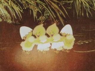 Картинка балет невылупившихся птенцов, ленточек
