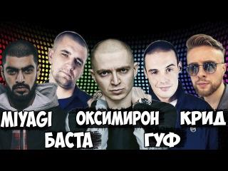 Американцы Слушают Русскую Музыку 26 КРИД, MIYAGI, БАСТА,Nikelle, Oxxxymiron, ГУФ,  Noize MC, OBLADAET