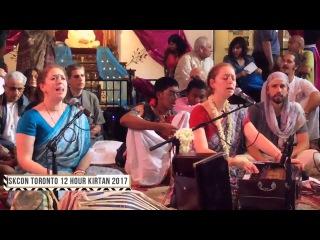 12 Hour Kirtan 2017 at ISKCON Toronto by Jahnavi Jivana Devi Dasi Jahnavi Harrison on 14th July 2017
