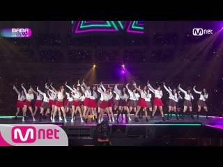 [PERF] MAMA 2017 CHUNG HA, Weki Meki, PRISTIN, fromis_9, Idol School Class 1, AKB48 - Pick Me