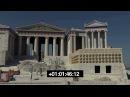 Greek Acropolis in the Mediterranean