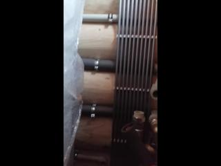 Маленькое видео процесса 3 день  монтажа котельной на базе теплового насоса NIBE.