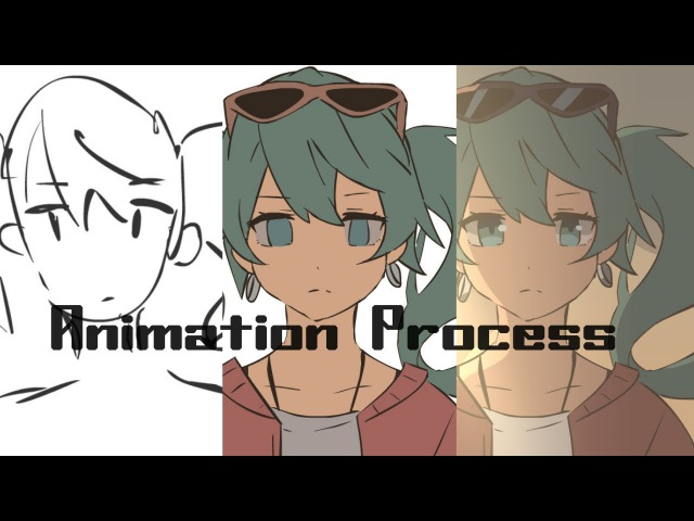 Sand Planet Animation Process Video