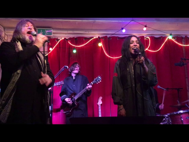 Ebbot Lundberg The Indigo Children feat. Loreen - Somebody To Love (Slussens Pensionat 2017-05-13)