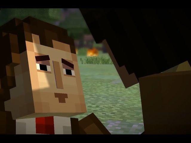 СМЕРТЬ ЭЛЬГОРД - Minecraft : Story Mode 11