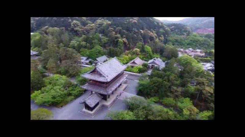 KYOTO Nanzenji DRONE FOOTAGE 4K Japan 南禅寺 Нандзэн дзи Киото Япония