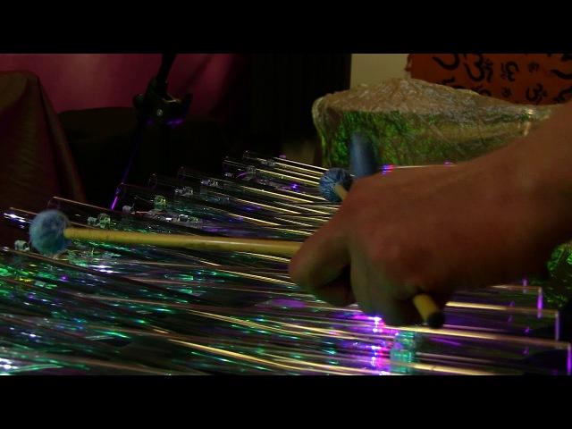 Svaritanum chromatic crystal harp crystalophone Winter song Music by Pavel Chizhik