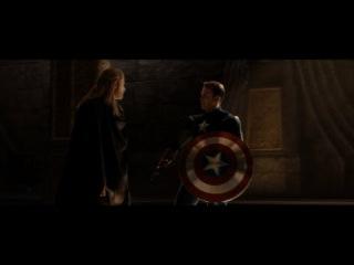 Thor: The Dark World - Loki Plays Captain America / Jane Slaps Loki HD
