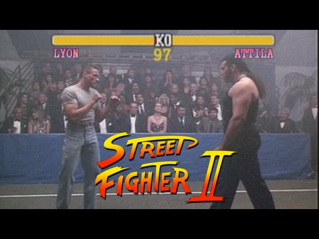 Van Damme in Street Fighter 2: Lionheart Edition