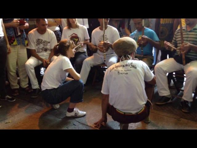 Contra mestra Tatiana x Mestre Cláudio (Angoleiros do Sertão)