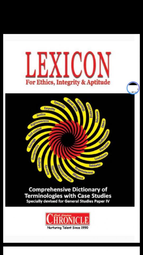 LEXICON ETHICS
