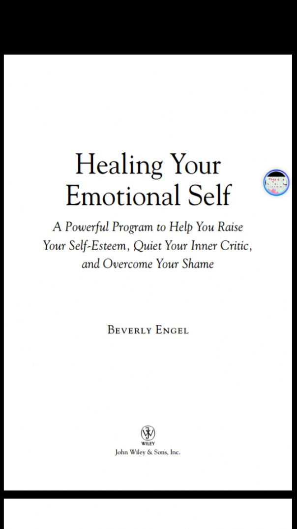 Healing Your Emotional Self A Power