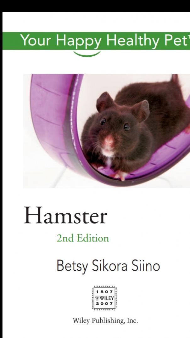 Hamster Your Happy Healthy
