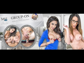 #VRon Dava Foxx & Trinity St. Clair (Group-On) [Threesomes FFM, MILF, Lesbians, Big Tits, POV, All sex, Virtual Reality, VR]