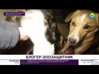 Спасающий собак блогер из Нижневартовска стал звездой Сети - МИР 24