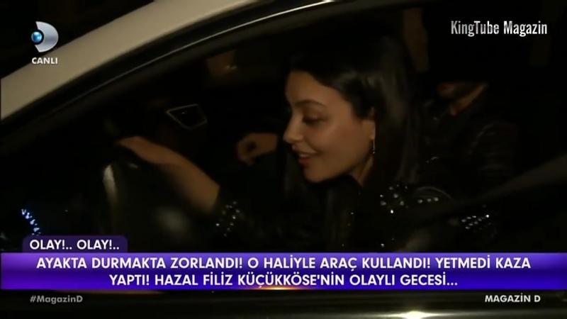 Hazal Filiz Küçükköse gece 4te kiminle görüntülendi Magazin D 11 Mayıs 2018
