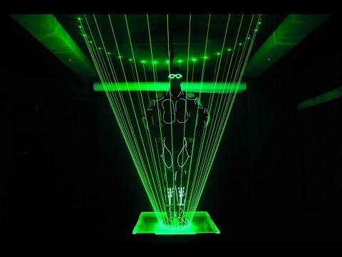 Laser Man show laserman show NEW Laser Man Show karibas lasershow Laser Tron Dance Show