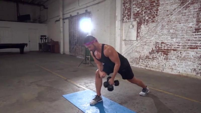 Mike Donavanik Full Body Dumbbell HIIT Workout