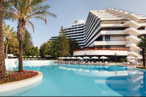 Отели Турции с подогреваемыми открытыми бассейнами, изображение №8