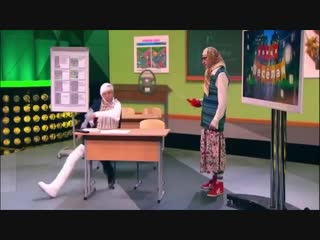 НОВЫЕ РУССКИЕ БАБКИ - БАБА ЯГА.улётный юмор