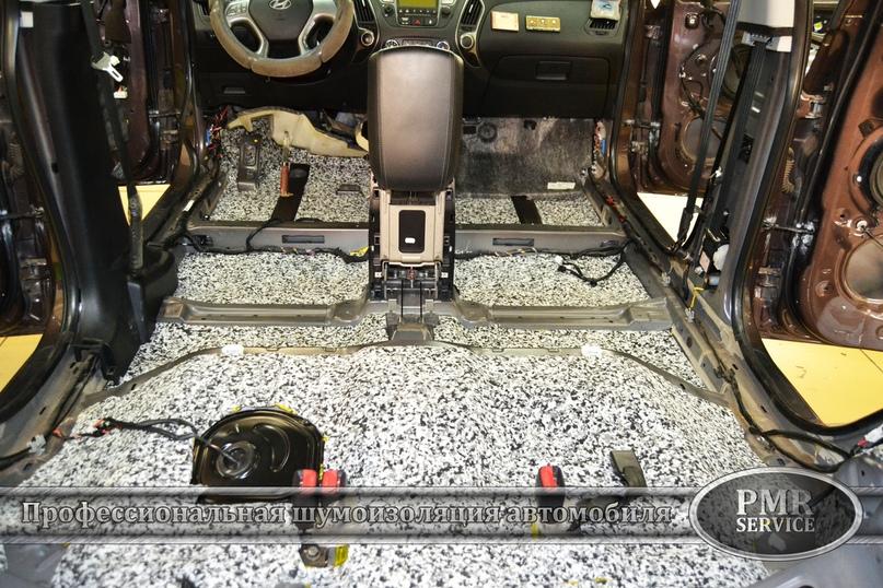 Комплексная шумоизоляция Hyundai ix 35, изображение №3