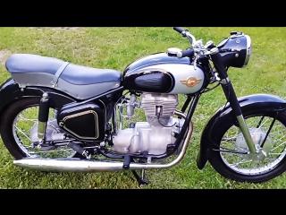Мотоцикл simson awo sport, 1958 год