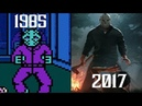 Evolution of Friday the 13th/Jason Voorhees in Games (1985-2017)