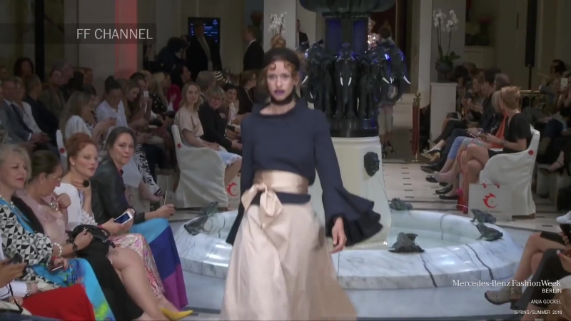 Anja Gockel Spring Summer 2018 Luxury Fashion World