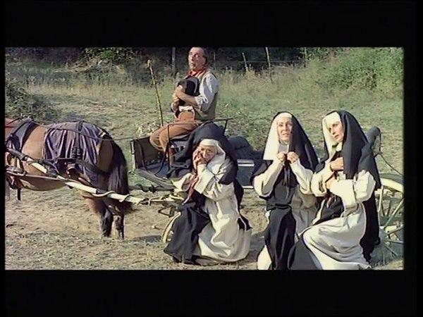 Drei Nonnen auf den Weg zur Hölle