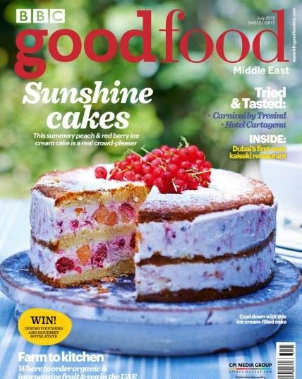 BBC Good Food Middle East - July 2018 (1)