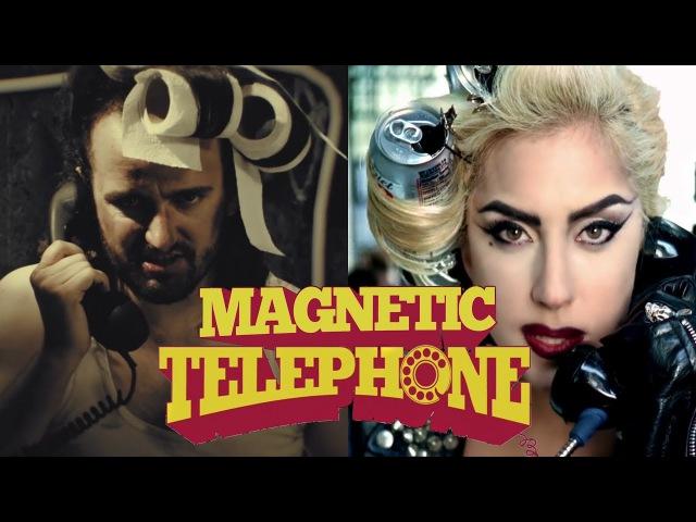 Alestorm ft Lady Gaga Magnetic Telephone Mashup video