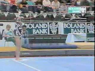 Elena Zamolodchikova 1996 South Africa Cup AA Floor