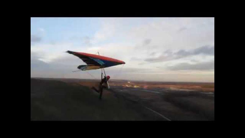Hang gliding / Дельтапланеризм. Дельтаклуб Альтаир 1