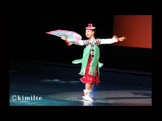 朝鮮舞踊 舞姫 조선무용 어린무희 2003년 권리세12才