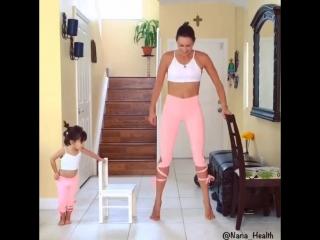 Спортивные мамочки