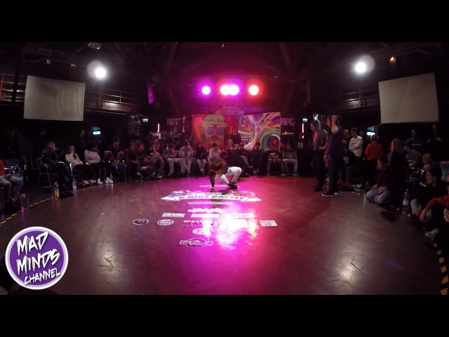 Bkidz battle 2016 Final Bgirl